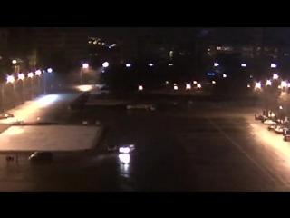 ЭКСКЛЮЗИВ. Новое видео с вандалами, сорвавшими баннер с фотографиями погибших воинов АТО