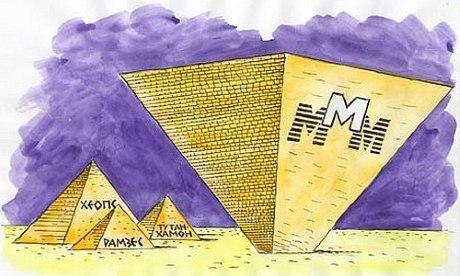 Пирамида МММ: история возникновения и исчезновения  Личность Сергея