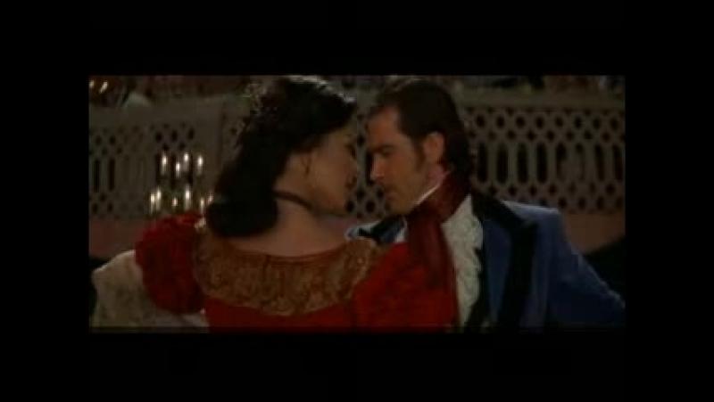 Антонио Бандерас и Кэтрин Зета-Джонс - Испанская страсть (Маска Зорро)