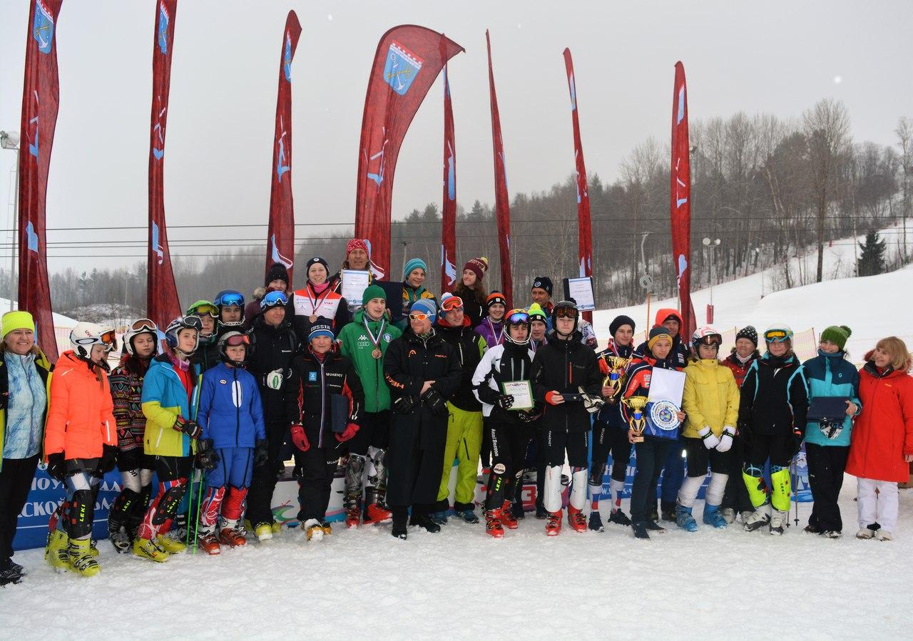 Успешный финал в Коробицыно коломенских горнолыжников, фото Коломна Спорт