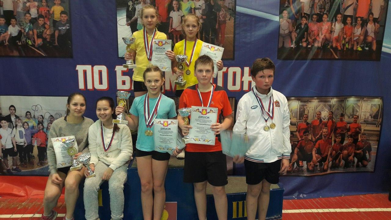 Успешное выступление коломенских бадминтонистов на турнире «VOSKRESENSK – OPEN»., фото Коломна Спорт