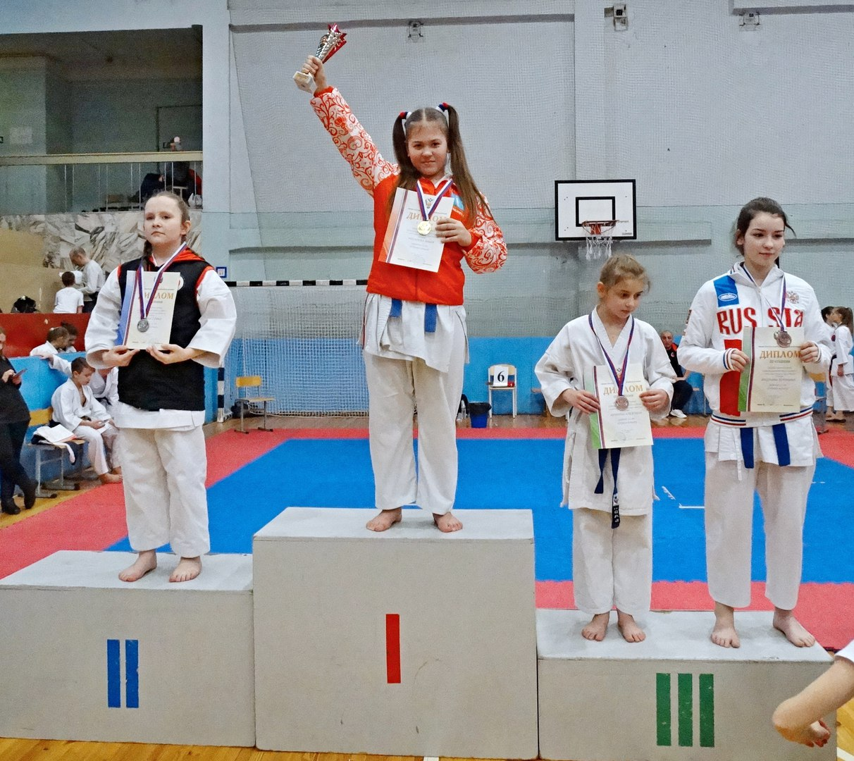 Майя Косарева стала победителем соревнований!, фото Коломна Спорт