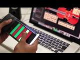 WhammyPhone - гибкий смартфон, представляющий собой необычный музыкальный инструмент