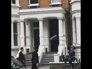 The child in time filming 22.04.17