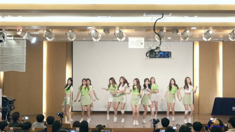 161106 아이오아이 TCC아트센터 팬사인회 너무너무너무 4K풀캠