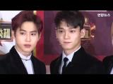 EXOBTSSEVENTEEN KBS Song Festival Photo Time (, , )  (1)
