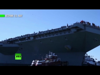 ВМС США получили самый дорогой корабль в мире
