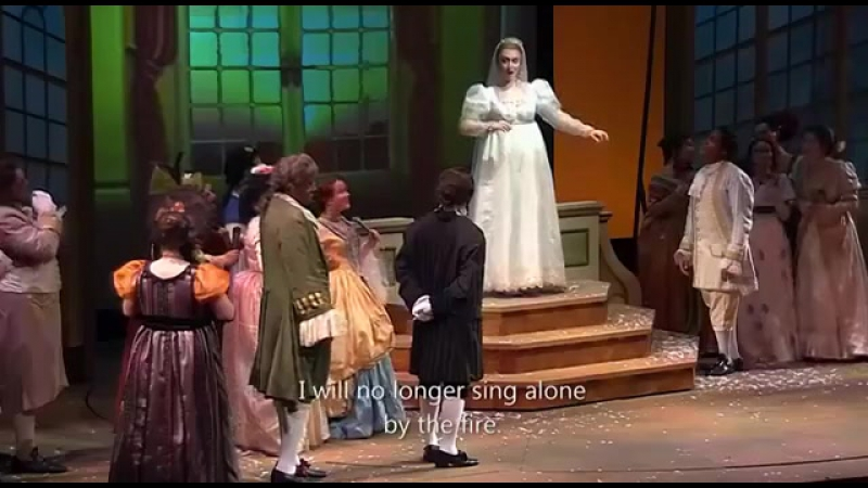 Gioachino Rossini - La Cenerentola / Золушка (Опера Флоридского университета. Майами), eng.sub.