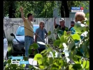 В Коряжме от мощного урагана пострадали 7 человек, тысячи деревьев и автомобили