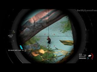 Sniper elite 4- brutal kill compilation vol.1 (melee, explosive  bullet killcams)
