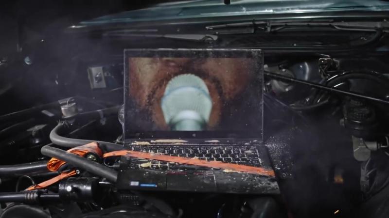 ThinkPad Х1 Yoga і бітбокс випробування на міцність
