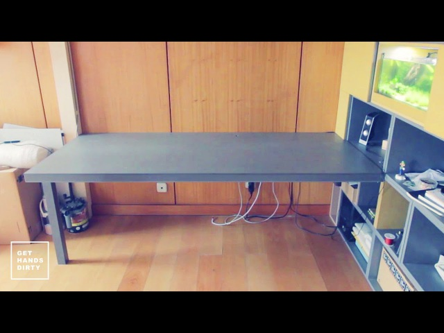 Loft Bed Work Space : (Almost Floating) Desk - Ep. 4