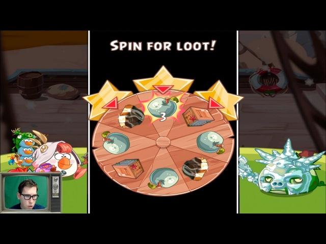 Прохождение Angry Birds Epic - СВИНЬИ-ПРИЗРАКИ против Андромалика _