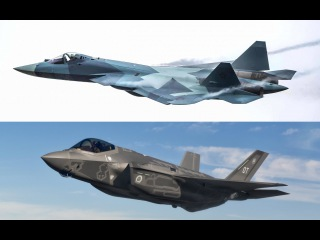 Russian military expert comparing F-35 and T-50 (PAK-FA) (English subtitles)