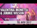 Valentina Monetta &amp Jimmie Wilson