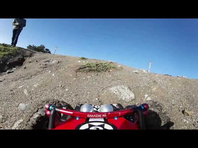 Samsung 360 4K video of Gmade R1 RC Crawler at the Dirt Farm