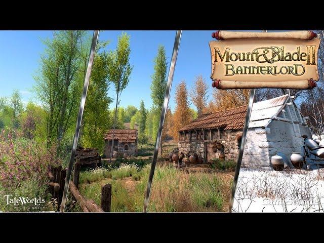Mount Blade II: Bannerlord - Строительство замков, огромные армии, сезоны и летающие люди
