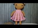 Милашка куколка Тильды, ч.1. Cutie doll Tilda, Part 1. Amigurumi. Crochet.