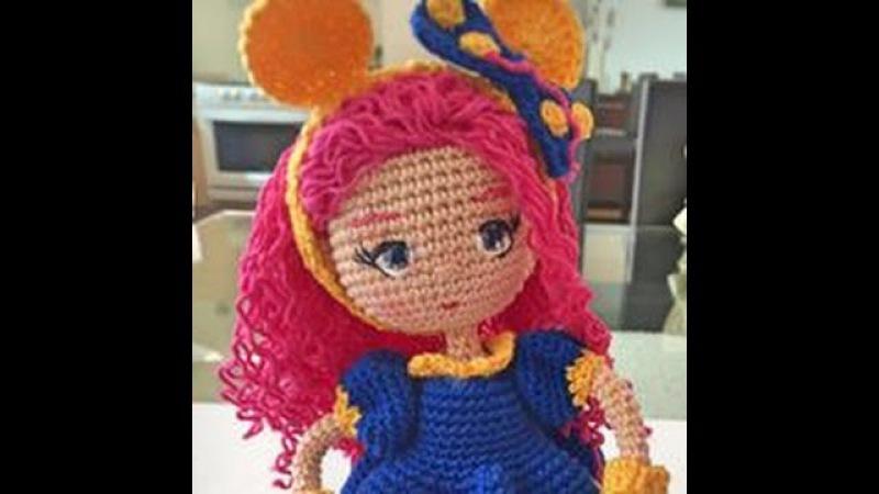 Como tejer cuerpo y vestido de muñeca Valentina amigurumi By Petus (27) SEGUNDA PARTE