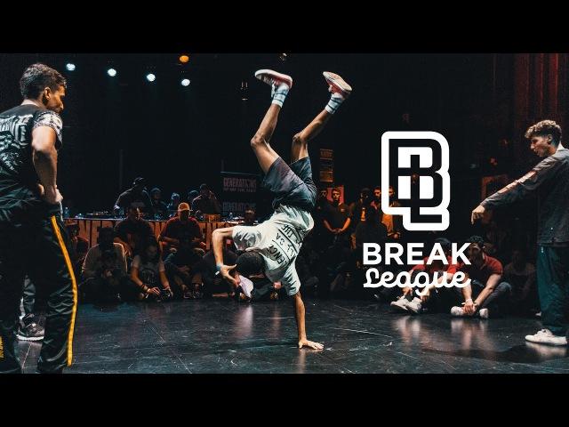 BREAKLEAGUE J2 - CITC - 1/2 - STREET ELEMENTS Vs WALK ALONE Pro Breaking tour UDEF