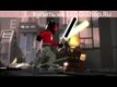 ЛЕГО Звездные войны минифильм Республиканский истребитель часть 2