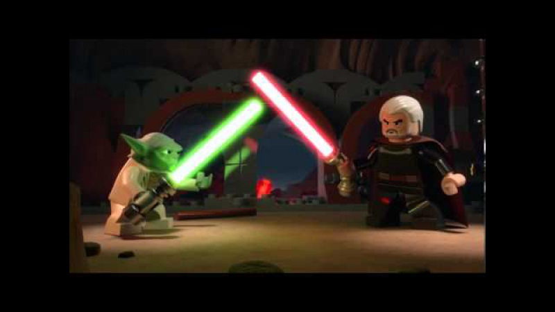 Yoda vs. Dooku - LEGO Star Wars - Episode 11 Part 1