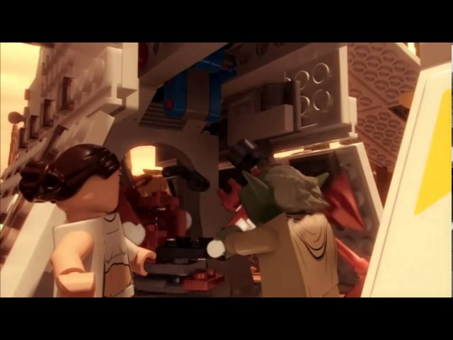 Yoda vs. Dooku - LEGO Star Wars - Episode 11 Part 2
