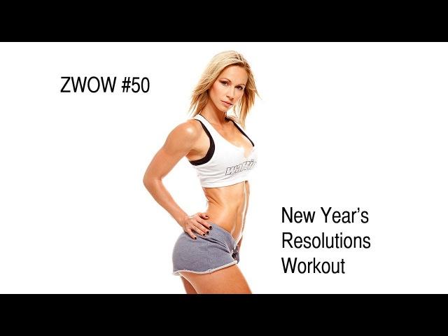 ZuzkaLight.com - ZWOW 50 Time Challenge - New Year's Resolution Workout