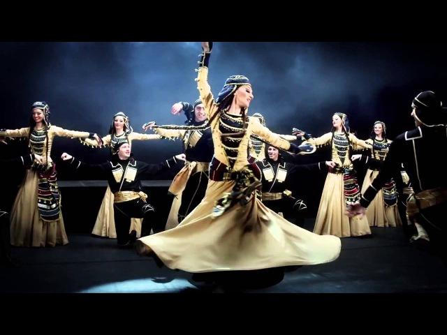 Rustavi / Georgian traditional (folk) dancing and singing (HD)