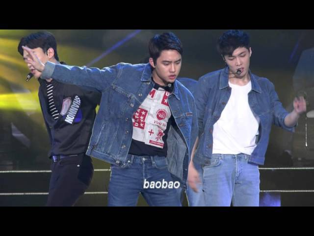 160409 Top Chinese Music2016, Call me baby - Baekhyun focus 백현