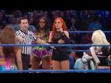 13117 Mickie James &amp Alexa Bliss vs Becky Lynch &amp Naomi - Smackdown Live Jan. 31, 2017