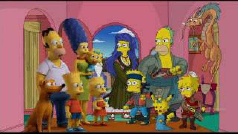 Симпсоны самые самые смешные моменты