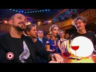 Кристина Асмус и Jukebox Trio в Comedy Club (18.11.2016)