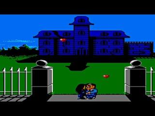 Прохождение игры The Addams Family [Sega Master System]