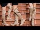 Çorap Çizme Modelleri