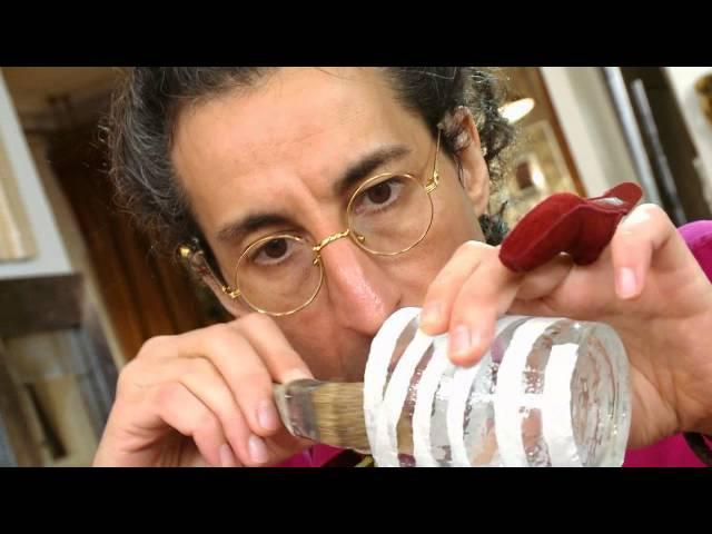 Мастер класс от Марата Ка «Подсвечник из стаканов»