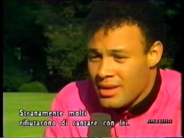 George Michael interview Raiuno