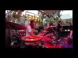 BIG DATA - DANGEROUS (Live) - Drum + Bass Cam