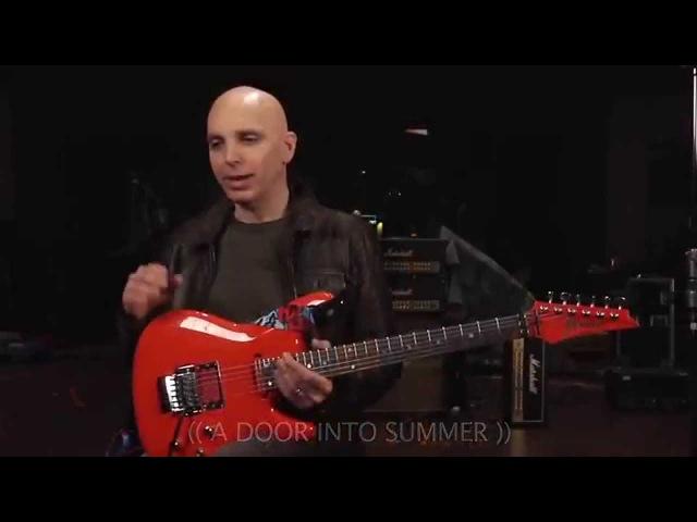 Эксклюзивное интервью на русском с Joe Satriani Запись нового альбома