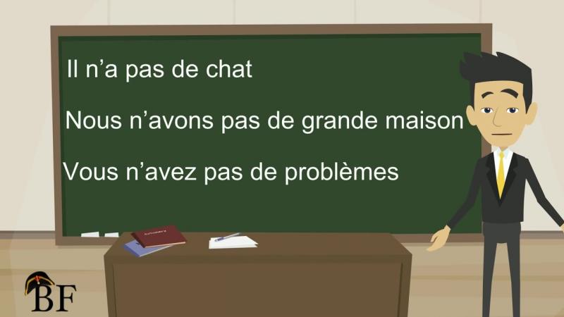 Урок французского языка 11 с нуля для начинающих- отрицательная форма во французском языке - 2 часть » Freewka.com - Смотреть онлайн в хорощем качестве