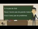 Урок французского языка 11 с нуля для начинающих- отрицательная форма во французском языке - 2 часть