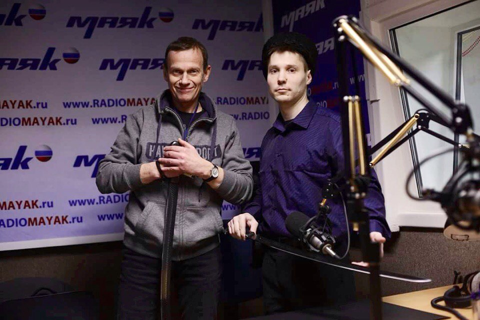 Игнатий Улин на радио Маяк