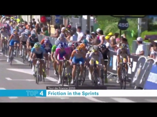 Friction in the Sprints