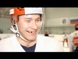 Хоккеисты отвечают на вопросы Аллы Михеевой