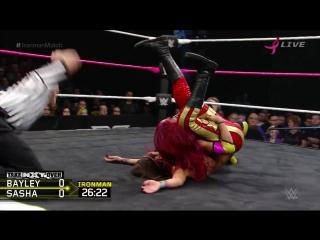 WWE QTV]Bayley vs Sasha Banks]Бэйли против Саша Бэнкс]NXT Takeover Respect ]NXT Womens Championship]30 Minut]Ironman Match]