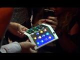 Гибкие смартфон и планшет