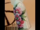 На улице зима, а у меня цветы Курс Шелк 4 техники фактурная гелевая роспись. Блок в стиле живопись маслом . Скоро Подпис