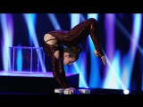 Contortionist Sofie Dossi's Unbelievable Performance RUS SUB