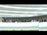 В заседании Совета Федерации участвуют студенты из Республики Алтай, обучающиеся в вузах г. Москвы.