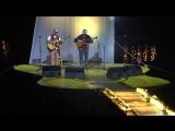 На Грушинском фестивале 2017 на заключительном концерте великолепно выступили известные барды Вадим и Валерий Мищуки